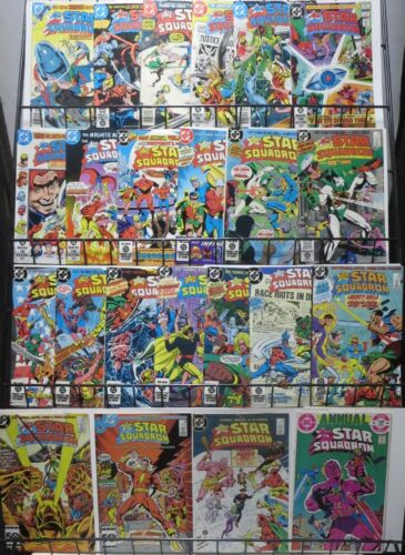 ALL-STAR SQUADRON (1981) 23 issues!Roy Thomas Golden Age fun!JSA Justice Society