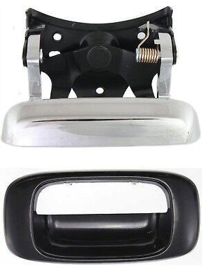 NEW Rear Tailgate Handle Chrome w/ Bezel 99-06 Chevrolet Silverado Sierra Truck