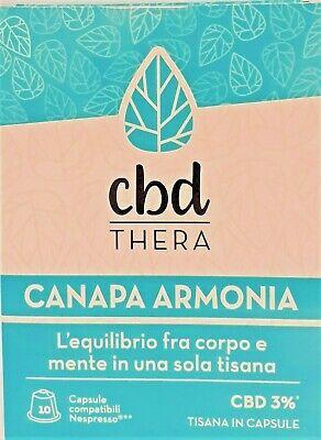 Tisana Canapa Armonia - 10 capsule compatibili Nespresso