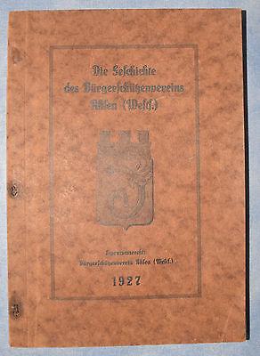 A. Schimmel: Die Geschichte des Bürgerschützenvereins Ahlen (Westf.), Ahlen 1927