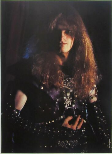 CELTIC FROST / TOM WARRIOR  poster   /   hellhammer venom mercyful fate