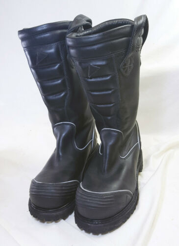"Thorogood HellFire Size 7m/9m 14"" Leather Structural Oblique Fire Boots 804-6369"