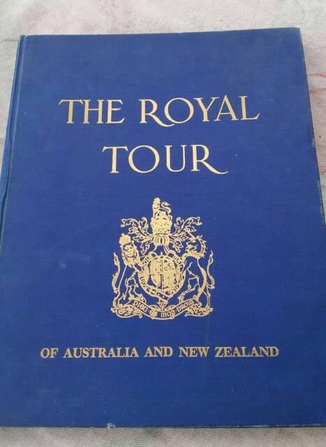 royal tour of australia new zealand 1953 54 book. Black Bedroom Furniture Sets. Home Design Ideas