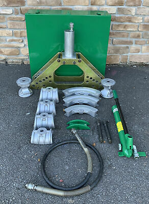 Greenlee 777 Hydraulic Bender 1-14-4 Rigid W 755 Hand Pump 1