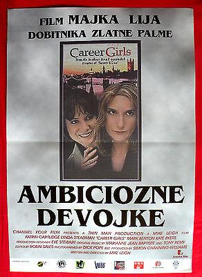 Employment GIRLS 1997 KATRIN CARTLIDGE LYNDA STEADMAN MIKE LEIGH EXYU MOVIE POSTER