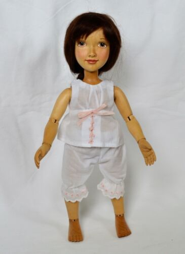 Xenis Isabella 12 in. Articulated Wood Doll - 2012 Forever Friends Collection