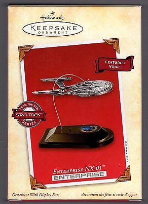 2002 Hallmark Star Trek Ornament Enterprise NX-01  MIB