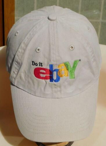 VTG Logo DO IT EBAY Seller Buyer Cap Hat Khaki Beige AMC