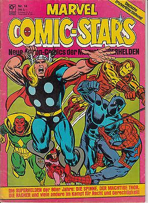 Marvel Comic Stars Nr. 14 (2-3) befriedigender ZUSTAND CONDOR Heft