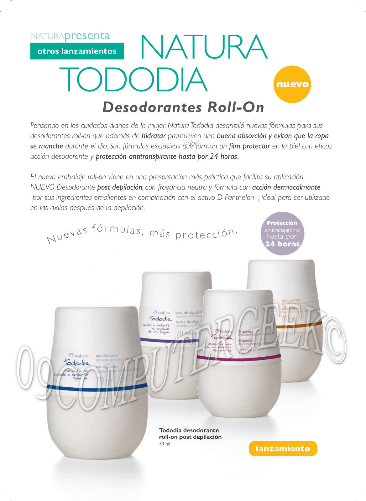 tododia deodorant roll on unisex