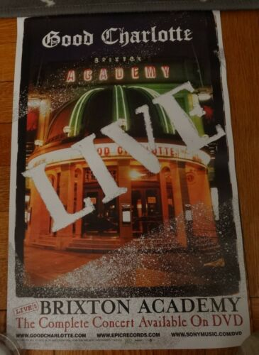 GOOD CHARLOTTE LIVE AT BRIXTON ACADEMY CONCERT PROMO 11x17 POSTER