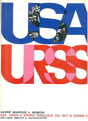MAUROIS ARAGON USA URSS STORIE PARRALLELE 1971 GIORNI NOSTRI 5 VOLUMI MONDADORI