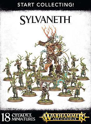 Start Collecting Sylvaneth Wood Elves Warhammer Age of Sigmar Fantasy NEW