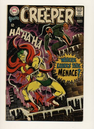 BEWARE THE CREEPER #1 VG/FN 1968