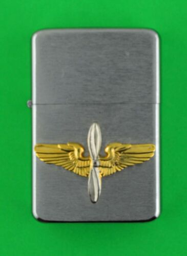 AVATION  WIND PROOF PREMIUM LIGHTER IN A GIFT BOX  - Pilot Air Crew