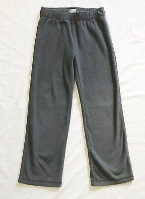 The Childrens Place Kids Boy Size 7/8 Gray Fleece Pants