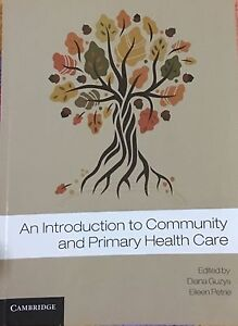 Primary and community health book Jacana Hume Area Preview