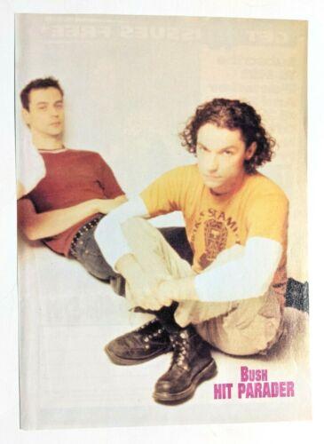 BUSH / GAVIN ROSSDALE / 1990