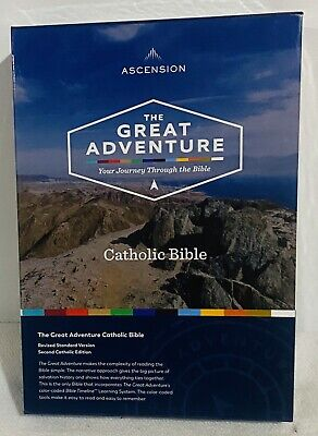 The Great Adventure Catholic Bible. ~NEW~ FREE SHIPPING!