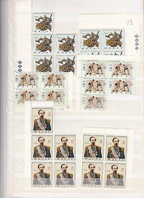 CHINA MACAU nice MNH collection in blocks (CV $500 EUR423)