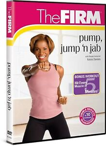 The Firm PUMP JUMP 'N JAB (DVD) and kickboxing workout kick boxing SEALED NEW