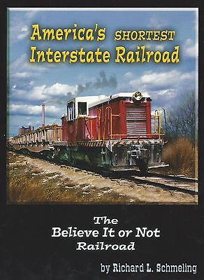 America's Shortest Interstate Railroad: The NEBRASKA-KANSAS Railroad (NEW BOOK)