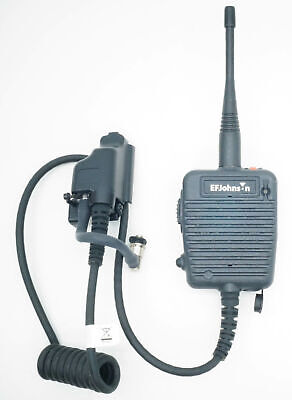 New In Box Ef Johnson Speaker Mic 25 Vp600 Portable Radio Microphone Immersion