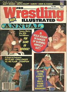 Pro-Wrestling-Illustrated-Annual-Fall-1985-Ric-Flair-Hulk-Hogan-WCW-Tommy-Rich