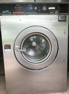Speed Queen Washer 50lb 3ph Laundromat Coin Commercial Laundry Huebschdexter