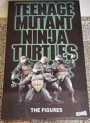 NECA TMNT SDCC 2018 EXCLUSIVE, 1990 MOVIE BOX SET, 4 PACK (NEW)