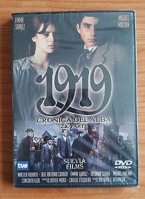 DVD: 1919 (Crónica del Alba) Suevia. Cine español. Original. Coleccionista