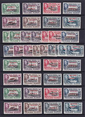 Falkland Islands Dependencies collection. Fine mint.