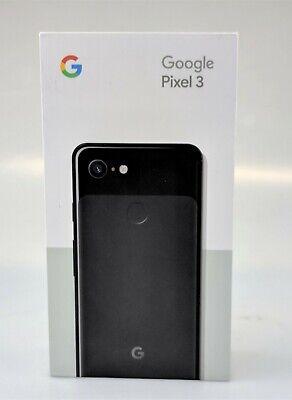 Google Pixel 3 64GB Black Verizon Unlocked Smartphone In Box Excellent Shape