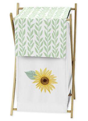 Sunflower Yellow Green White Sweet Jojo Boho Floral Baby Clo