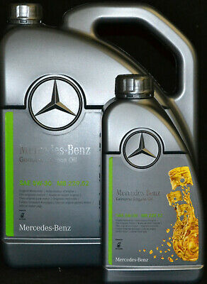 5+1=6 Liter ORIGINAL MERCEDES BENZ  5W30 PKW MOTORÖL MB 229.52 Synthetic 5W-30