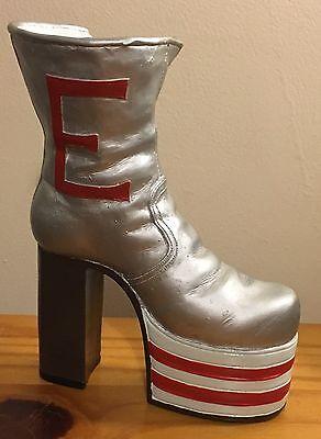 Shoes Of Distinction Elton John Tommy Pinball Wizard Platform Boot Ornament Glam
