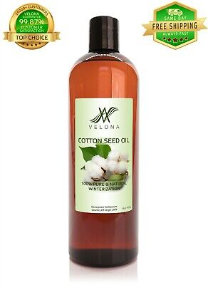 Cotton Seed Oil 16 oz 100% PURE & NATURAL WINTERIZATION VELONA Cooking Oils & Serving Oils