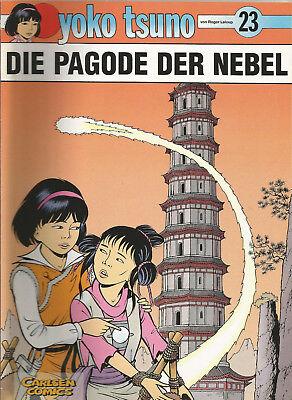 """Yoko Tsuno Nr.23 """" Die Pagode der Nebel """"  1.Auflage / Carlsen Verlag"""