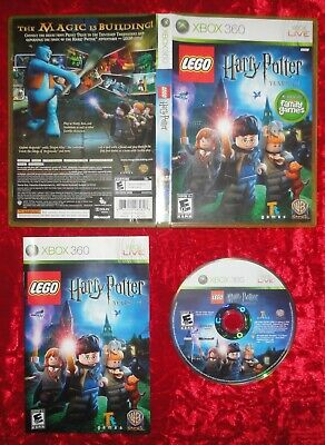 LEGO HARRY POTTER YEARS 1-4 (2010) for XBOX 360 *COMPLETE*