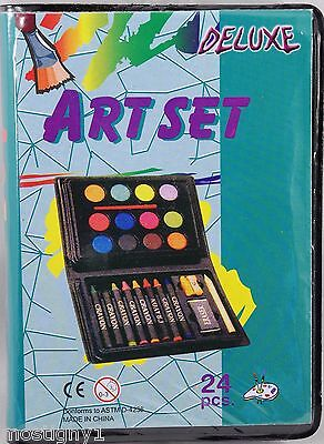 Kids Crafts – Mini Deluxe Art Set - 24 pc