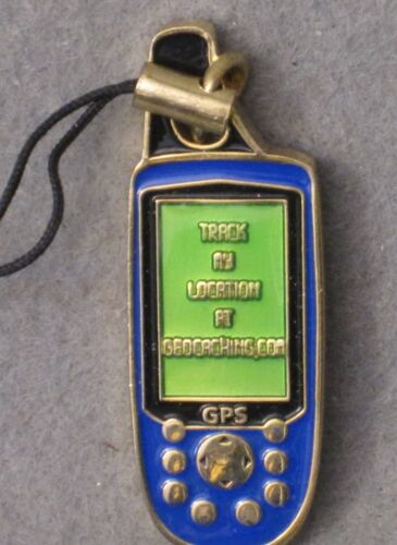 GEOCACHING MICRO GPS NICKEL UNACTIVATED GEOCOIN