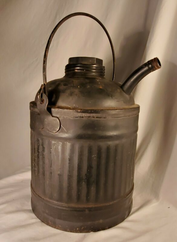 L & N  Railroad Kerosene/ Oil Can, Amazing Condition, With Logo on Can. NICE!
