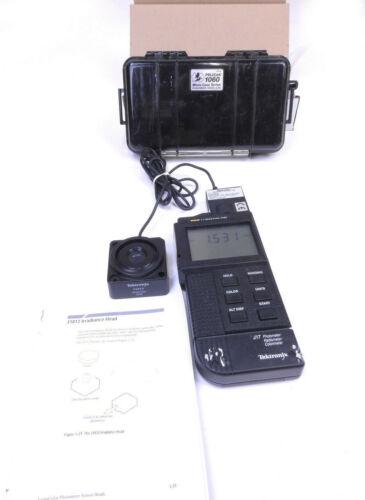 Tektronix Lumacolor J17 Photometer Radiometer Colorimeter  J1812 Irradiance Head