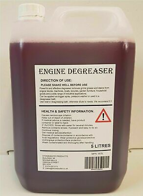 Stonewhite Ultra Engine Degreaser Spray Cleaner Car Grease Dirt Remover 5L