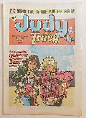 JUDY & TRACY Comic #1325 - 1st June 1985