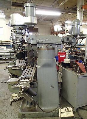 Bridgeport Series 1 Mill- 1.5 Hp Shaper Head Power Feed Collets