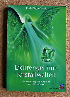 Lichtengel und Kristallwelten | Ursula Klinger-Omenka | Taschenbuch | gebraucht