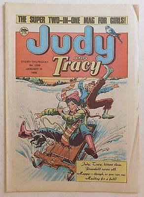 JUDY & TRACY Comic #1359 - 25th January 1986
