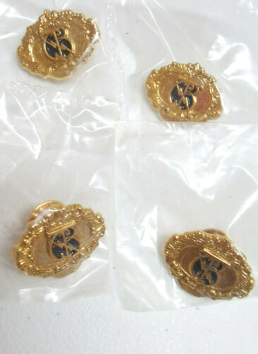 Elvis Pin Taking Care of Business Goldtone and Black 4