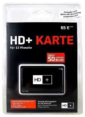 HD-Plus HD+ Karte für 12 Monate HD+ Empfang OVP NEU Typ HD04